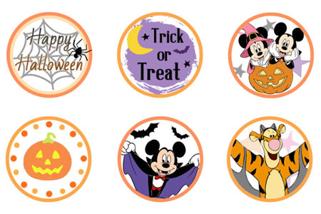 Printable Disney Halloween Cupcake Toppers Disneyclips Com