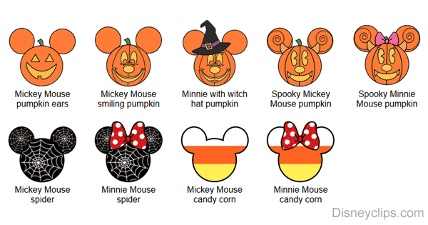 Halloween Mickey Mouse Ears Icons Disneyclips Com