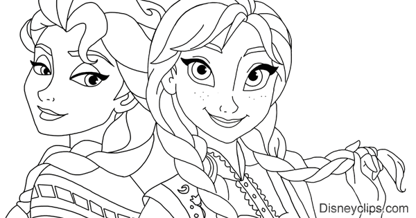 Disney's Frozen Coloring Pages