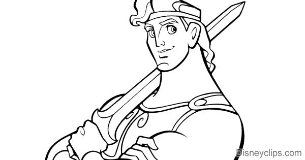 disneys hercules coloring pages   Disney's Hercules Coloring Pages   Disneyclips.com