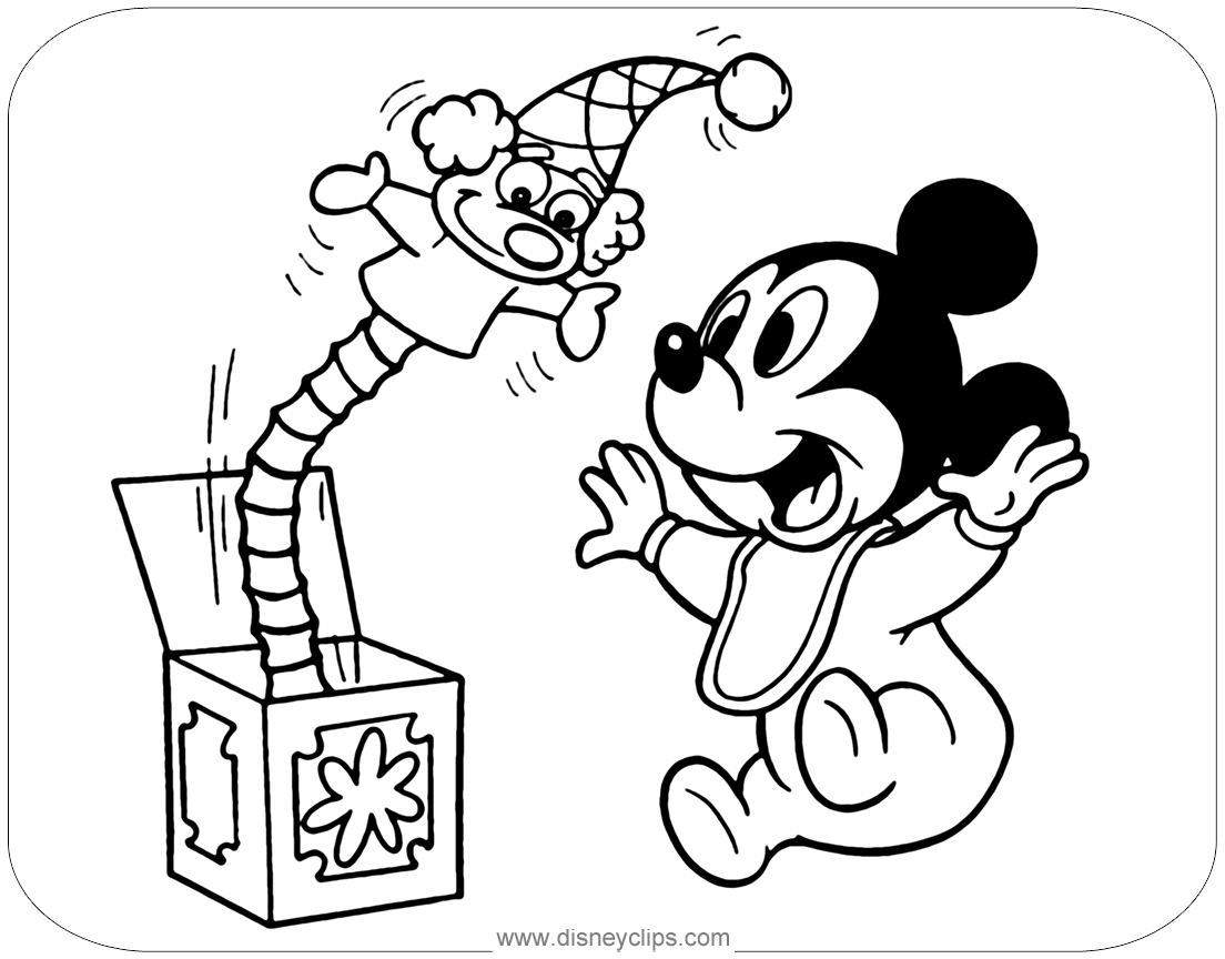Disney Babies Coloring Pages Disney S World Of Wonders