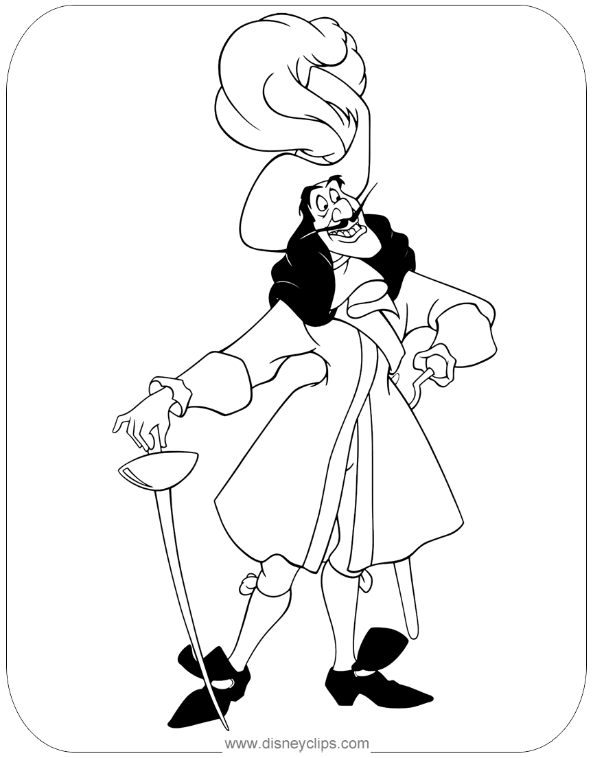 peter pan coloring pages 3  disneyclips