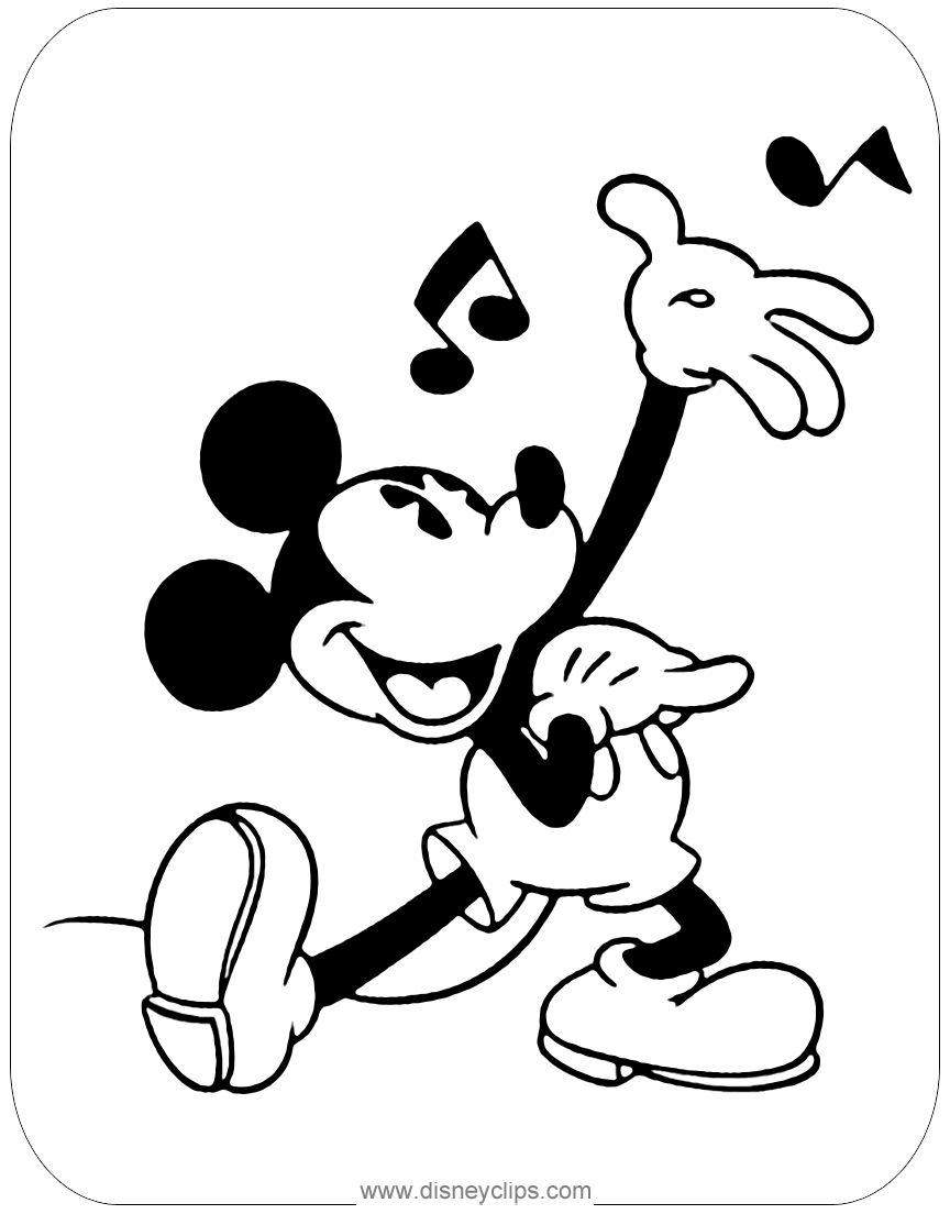 classic characters coloring pages - photo#38