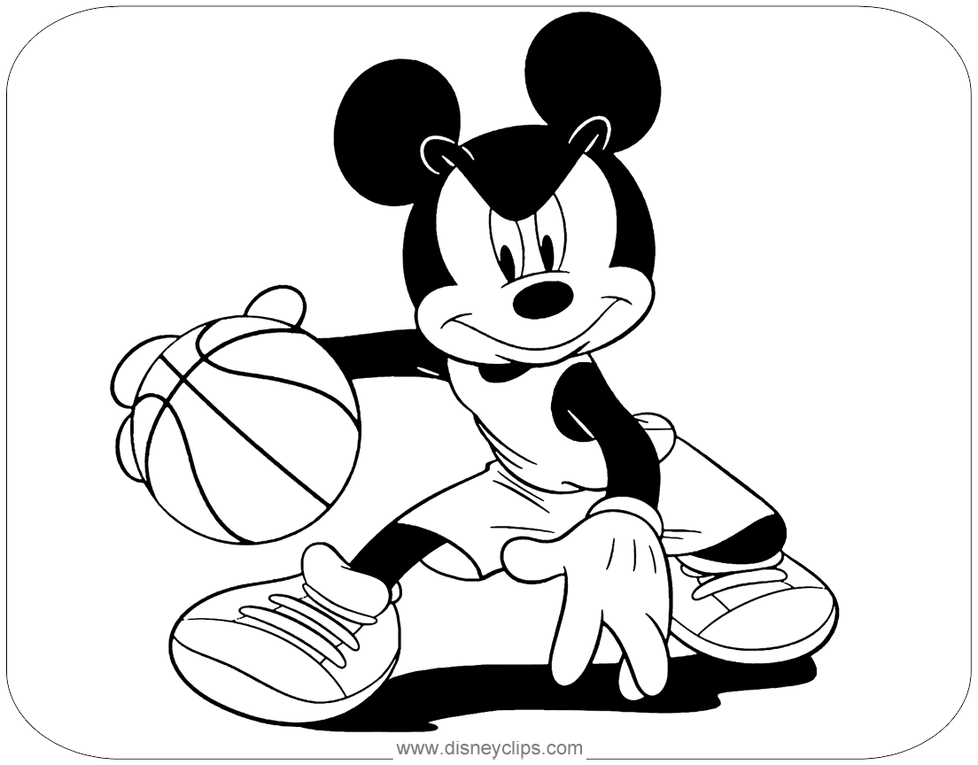 Mickey Mouse Coloring Pages Disney 39 s World of Wonders