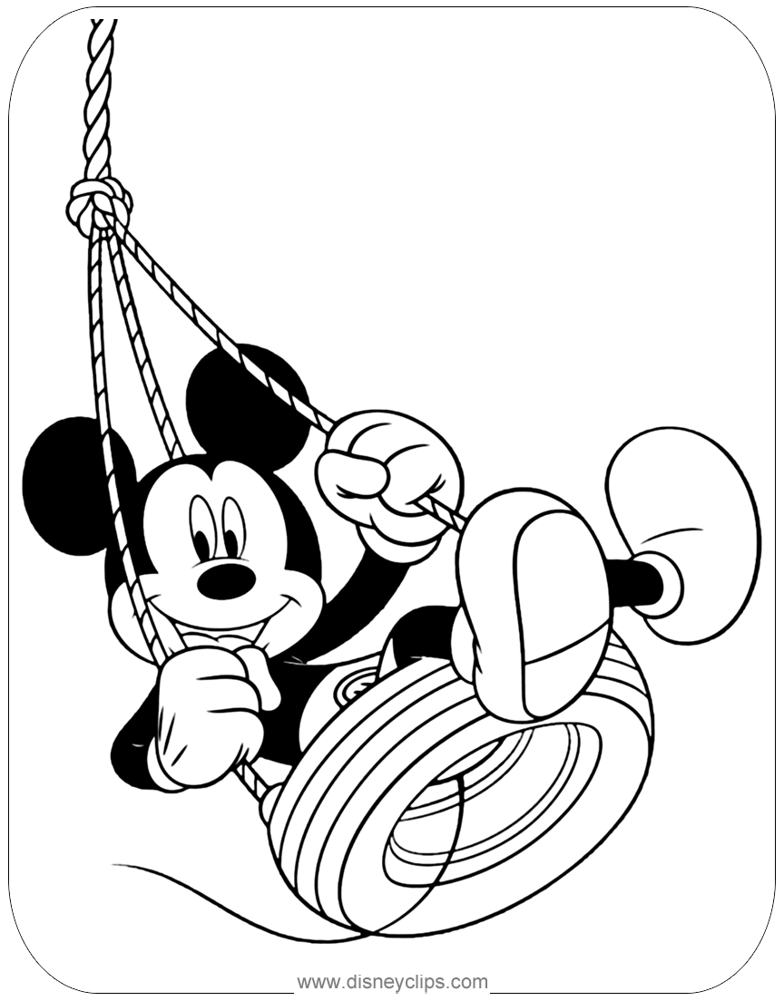 Mickey Mouse Coloring Pages 2 Disney S World Of Wonders