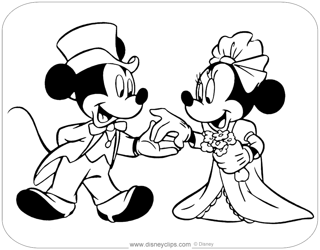 Mickey Mouse amp Friends Coloring