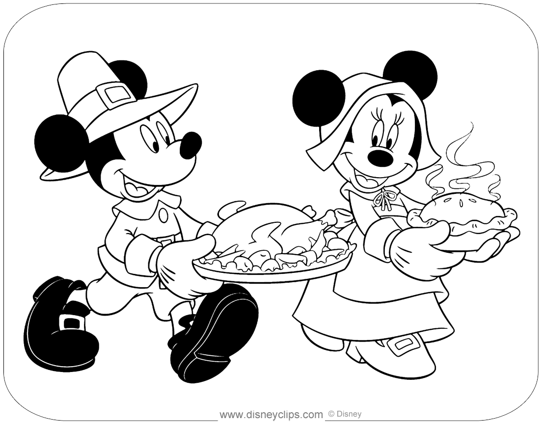 Mickey Mouse & Friends Coloring Pages 6 | Disney's World ...
