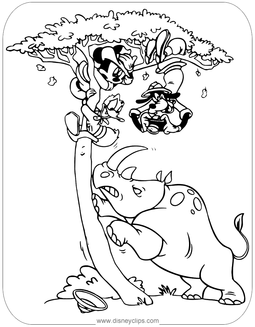 Mickey Mouse & Friends Coloring Pages | Disney\'s World of Wonders