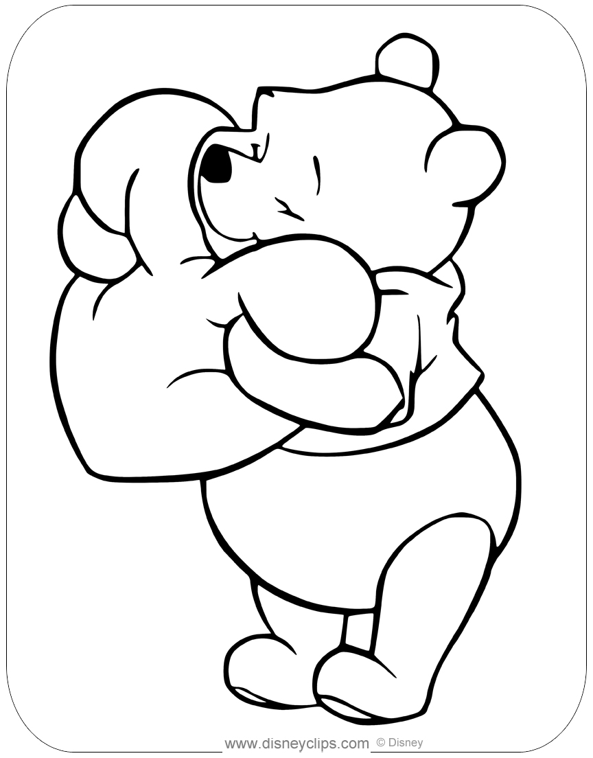 - Disney Valentine's Day Coloring Pages Disneyclips.com