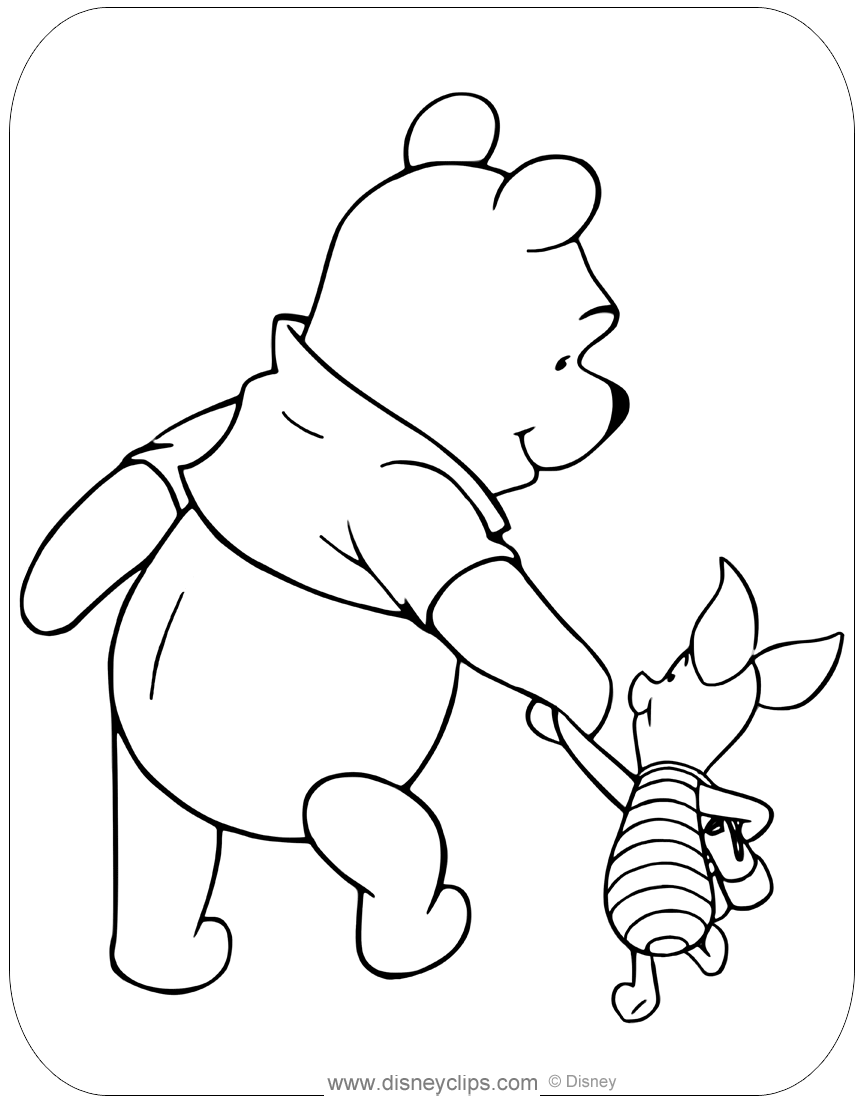 Printable Eeyore Coloring Pages | ColoringMe.com | 1104x864