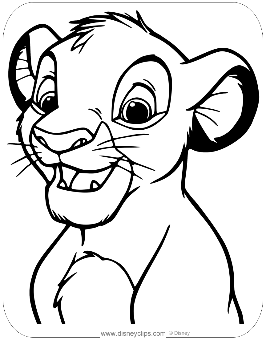 The Lion King Coloring Pages | Disneyclips.com