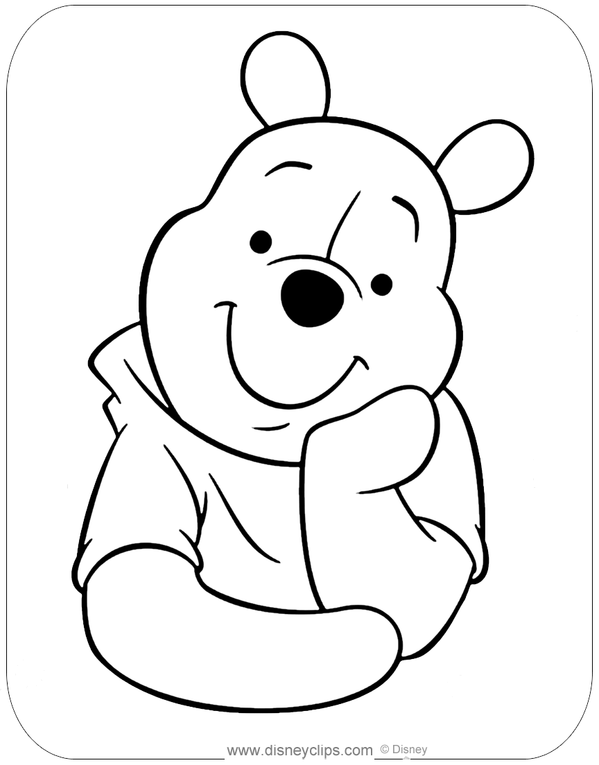 - Misc. Winnie The Pooh Coloring Pages Disneyclips.com