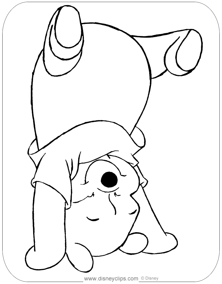 Winnie the Pooh Coloring Pages | Disney's World of Wonders