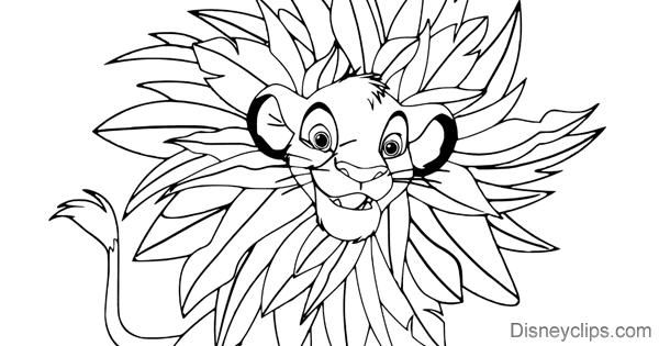 The Lion King Coloring Pages 2 Disneyclips Com