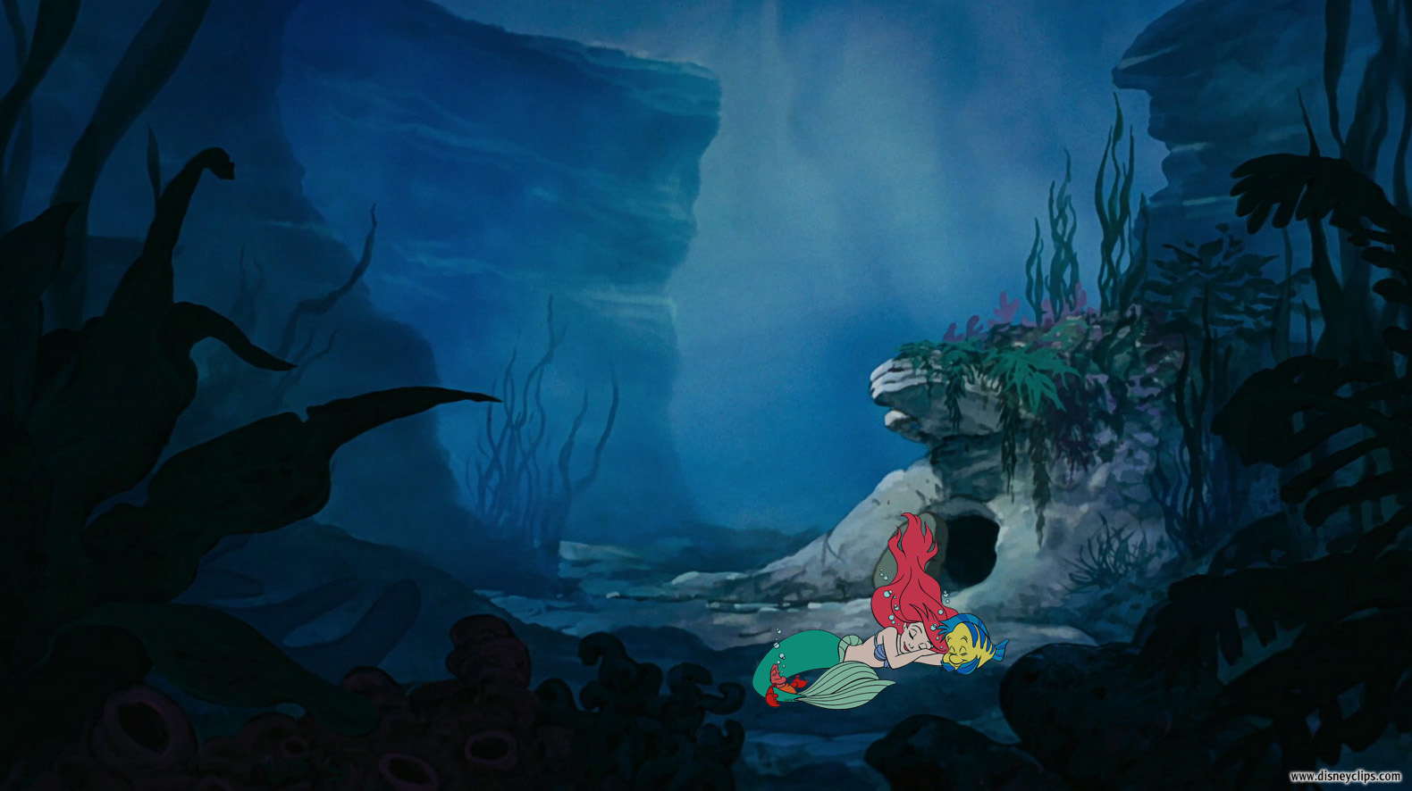 The Little Mermaid Wallpaper Disneyclips Com