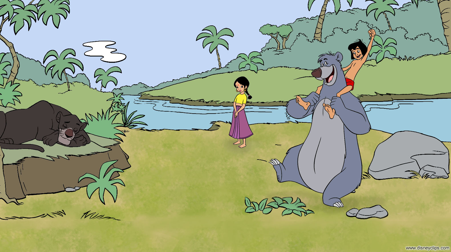 The Jungle Book Wallpaper Disneyclips Com