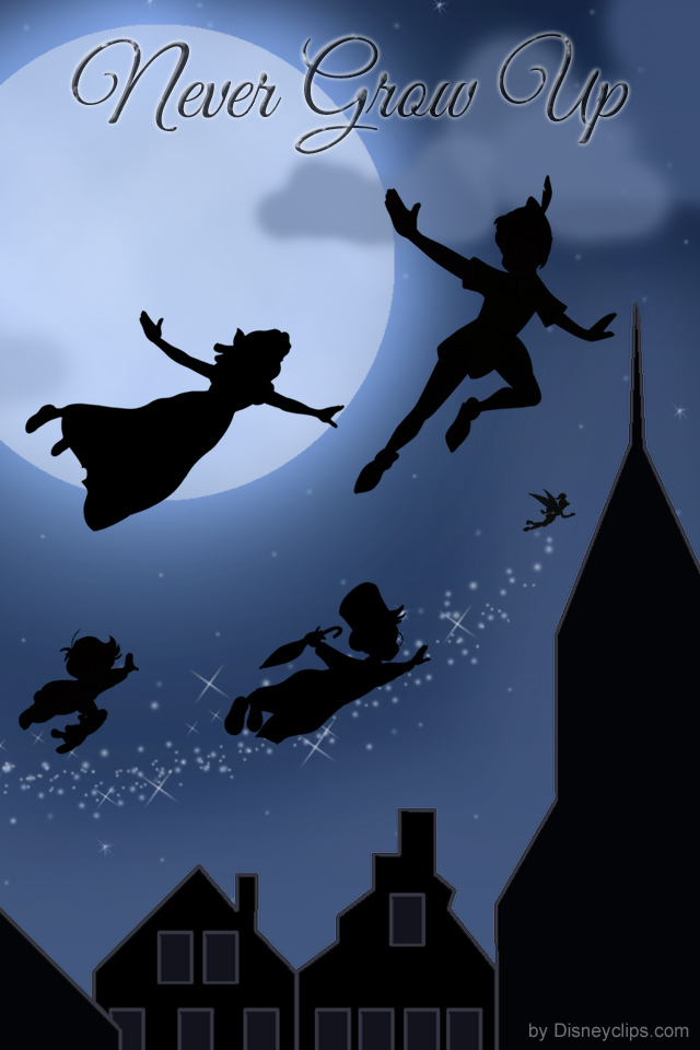 Peter Pan Tinker Bell Wallpaper