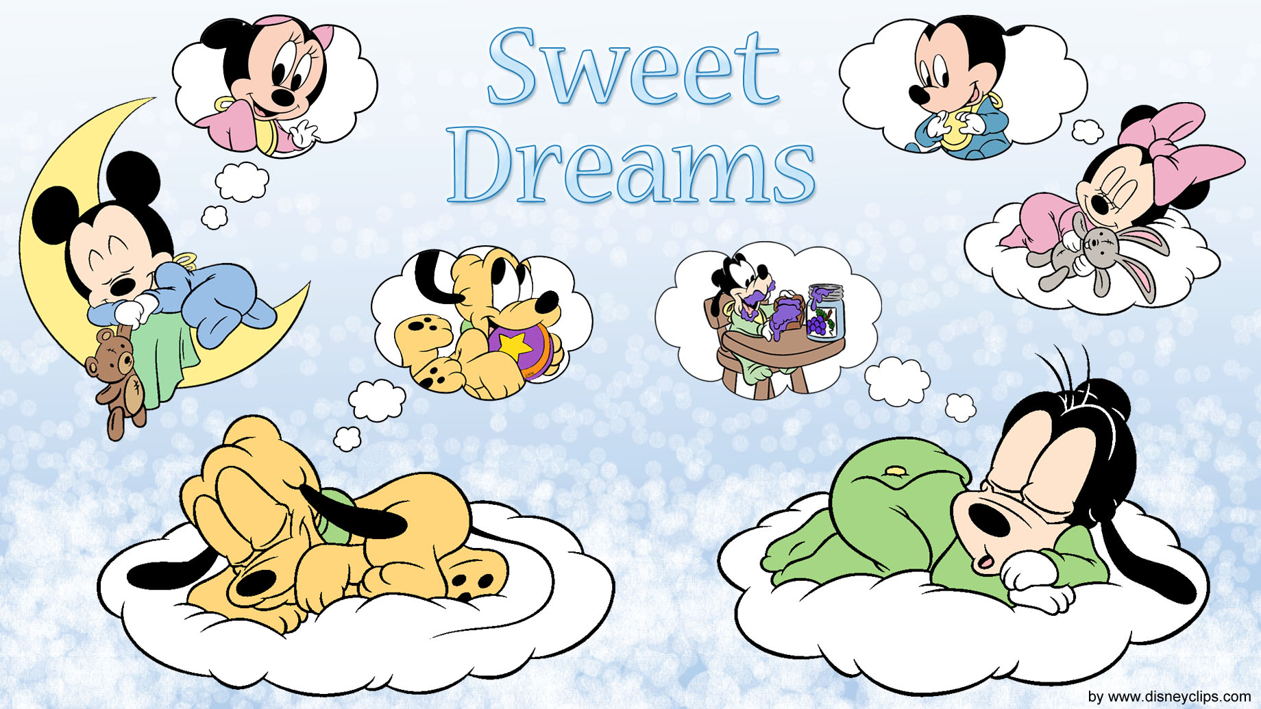 Disney Mickey And Friends Wallpaper