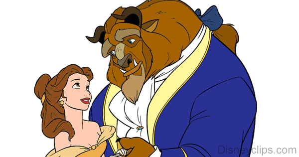 Beauty and the Beast Clip Art Disney Clip Art Galore