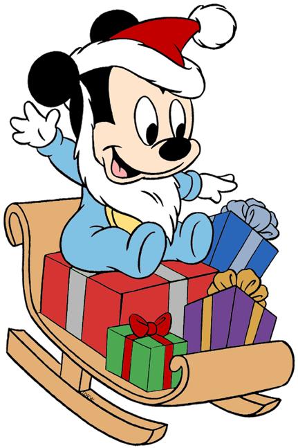 Mickey Mouse Christmas Clip Art