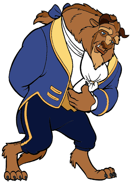 the beast and the prince clip art disney clip art galore rh disneyclips com beauty and the beast clipart rose beauty and the beast clipart free