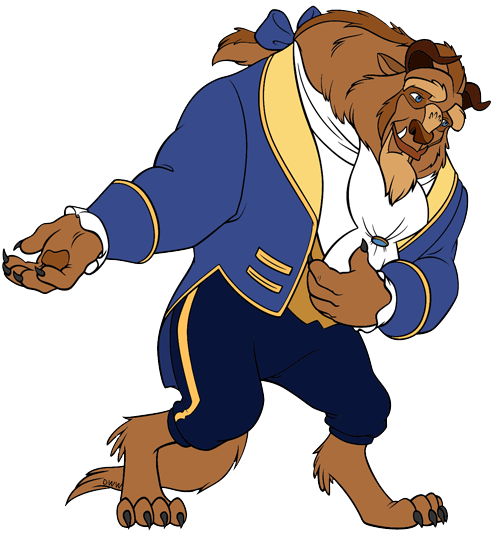 the beast and the prince clip art disney clip art galore rh disneyclips com beauty and the beast clip art free beauty and the beast clip art free