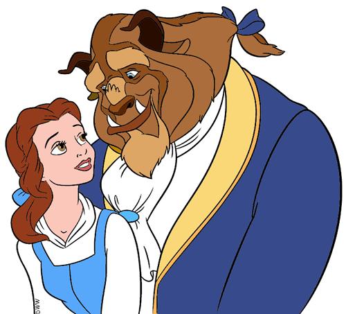Belle And The Beast Clip Art 2 Disney Clip Art Galore