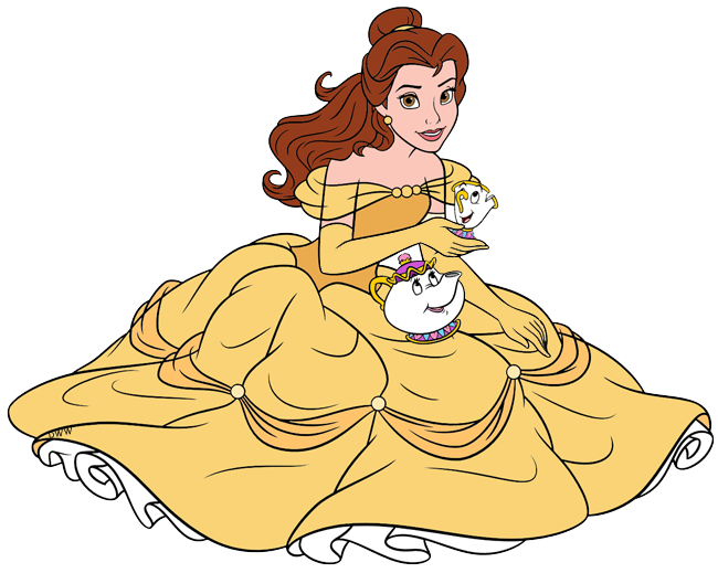 Beauty and the Beast Group Clip Art | Disney Clip Art Galore