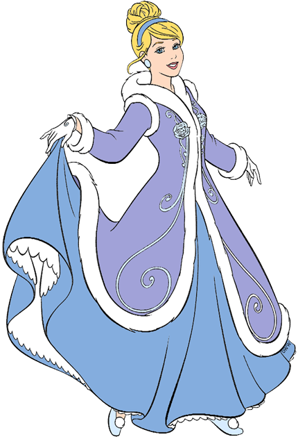 Disney Winter Season Clip Art 4