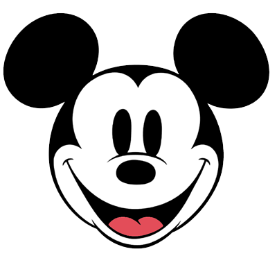 Classic Mickey Mouse Clip Art