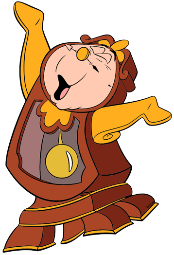 Lumiere Cogsworth And Fifi Clip Art Images Disney Clip