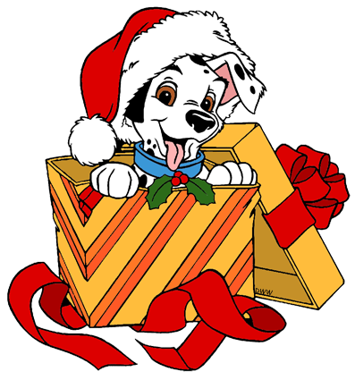 101 Dalmatians Christmas Clip Art | Disney Clip Art Galore