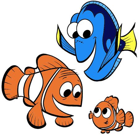 Finding Nemo Clip Art | Disney Clip Art Galore
