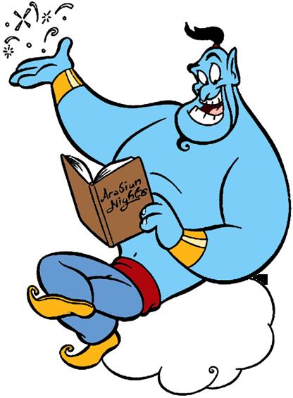 Aladdin S Genie Clip Art Disney Clip Art Galore