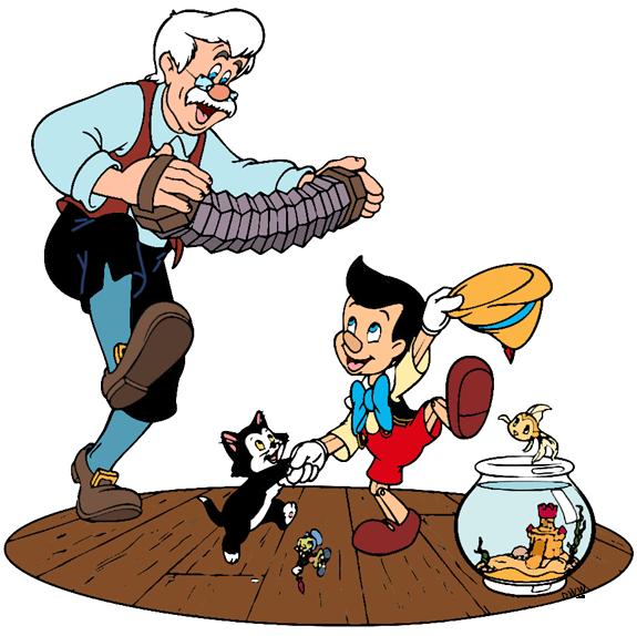 Pinocchio Group Clip Art Disney Clip Art Galore