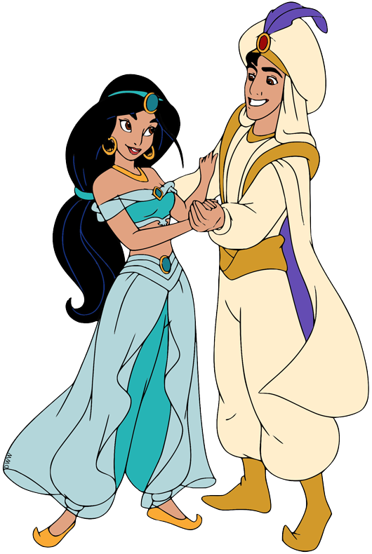 Aladdin And Jasmine Clip Art Disney Clip Art Galore