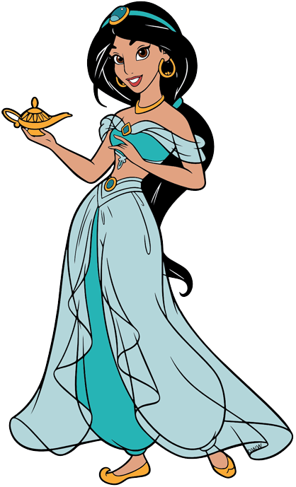 Jasmine Clip Art Disney Clip