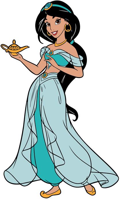 Jasmine Clip Art Disney Clip Art Galore