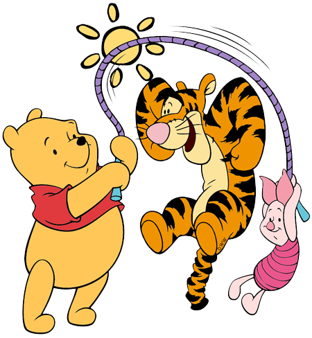 Winnie The Pooh Piglet And Tigger Clip Art Disney Clip