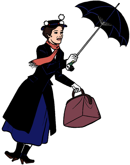 Mary Poppins Clip Art