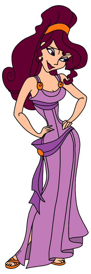 Disney Megara Clip Art Galore