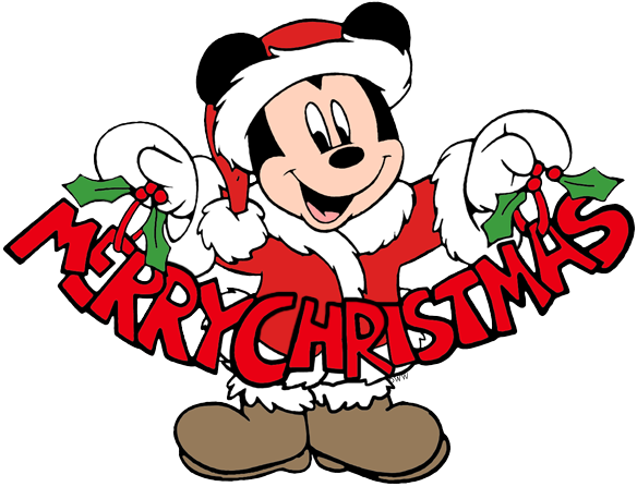 mickey mouse christmas clip art 2 disney clip art galore rh disneyclips com disney christmas clipart borders disney christmas clipart free herbie