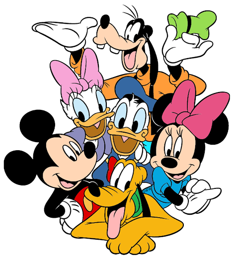 mickey mouse friends clip art disney clip art galore rh disneyclips com group of friends talking clipart
