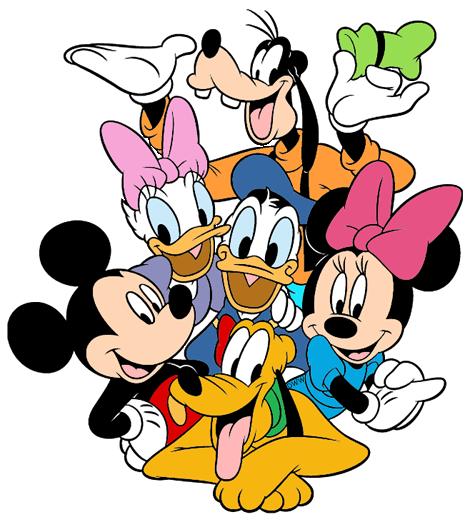 mickey mouse friends clip art disney clip art galore rh disneyclips com group of happy friends clipart group of friends clipart black and white