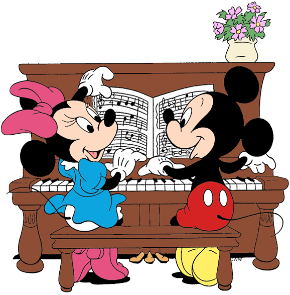 Minnie Mouse Playing Piano Www Imagenesmy Com