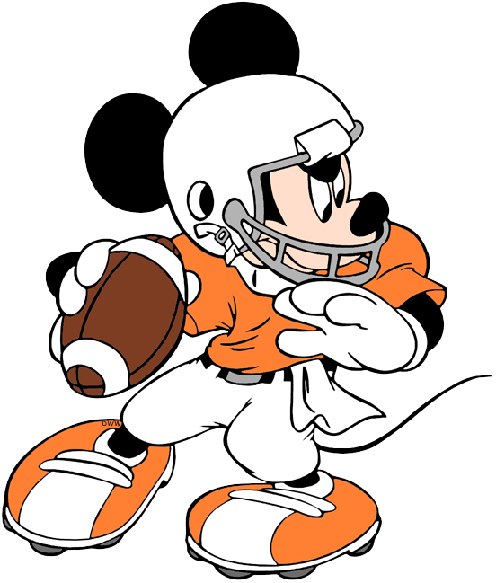 Disney Football Clip Art Disney Clip Art Galore
