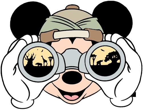 aca6c4dbe50cb ... On safari looking through binoculars Veterinarian Mickey ...