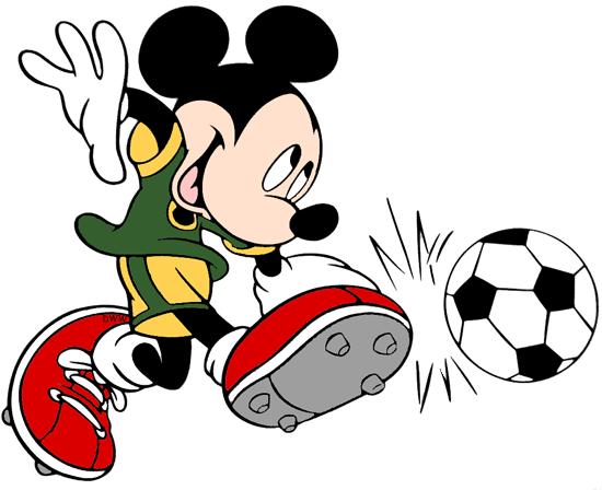 Disney Soccer Clip Art