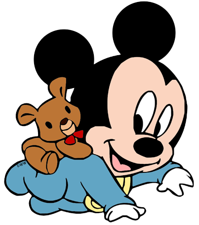 ... Baby Mickey, Teddy Bear ...