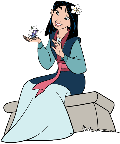 Mulan And Friends Clip Art Disney Clip Art Galore